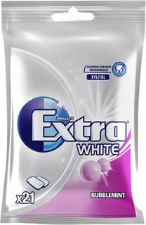Extra white bubblemint