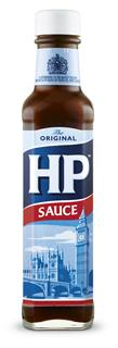 HP Sauce glasflaska