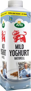 Mild yoghurt naturell FT 3%