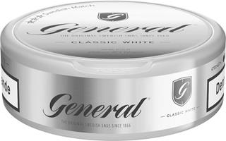 General portion white