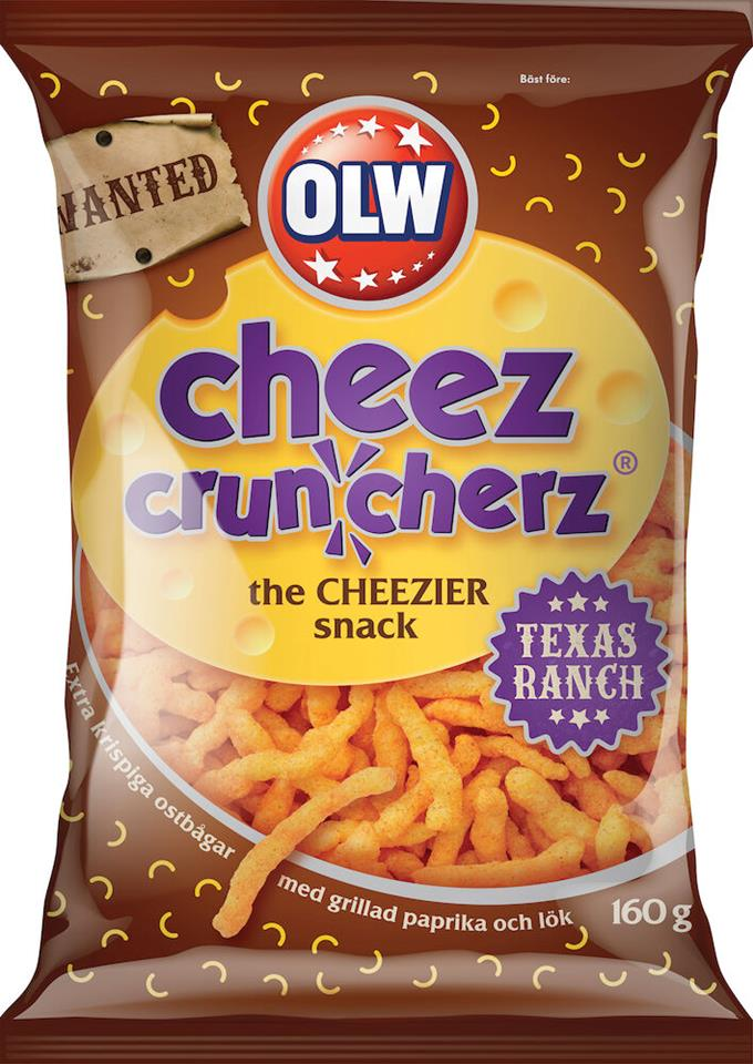 Ostbågar cheez crunch
