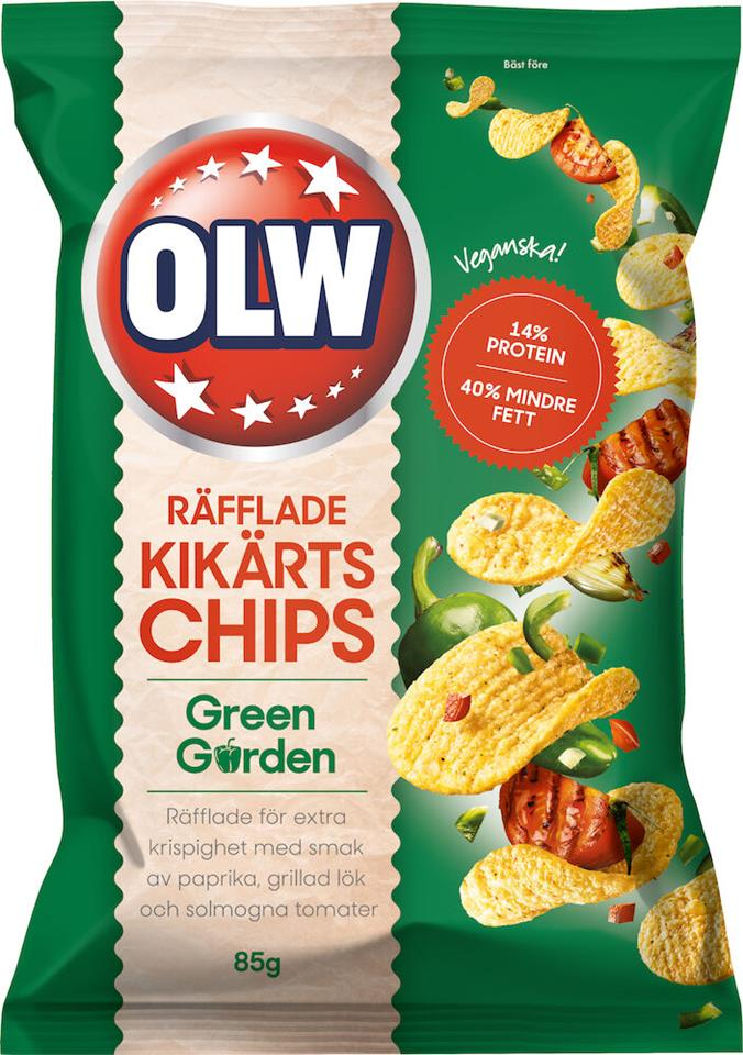 Kikärtschips Green Gard