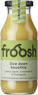 Froosh slow down smoothie lemonbalm  chamomille pineapple