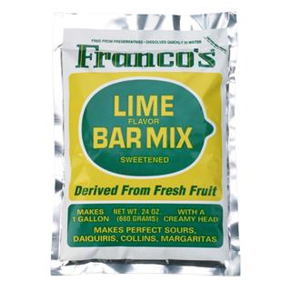 Francos Lime Sweet & Sour