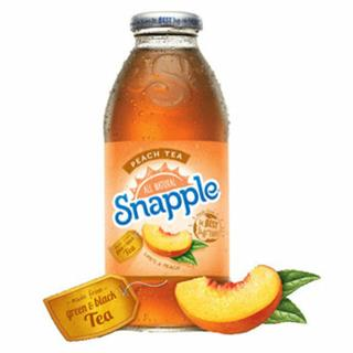 Snapple Peach Tea ENGL