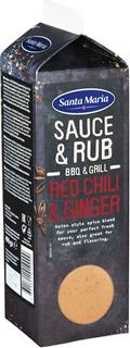 BBQ Sauce&Rub Mix Red Chili&Ginger