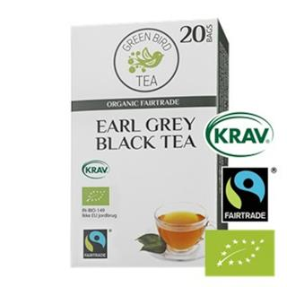 Te Earl Grey Fairtrade KRAV