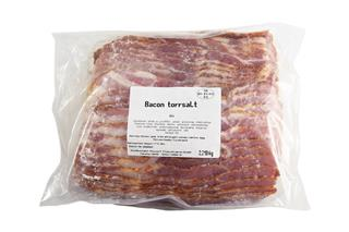 Bacon skivat torrsaltat 3 mm