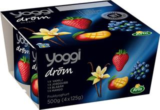 Yoggi Dröm mix 4-pack