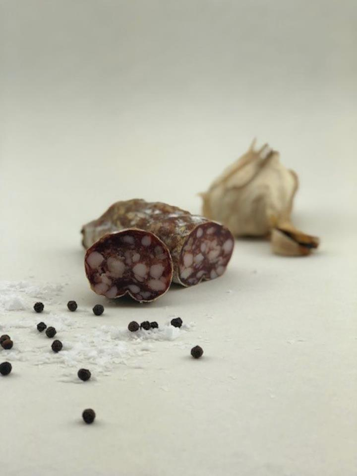 Salami black garlic