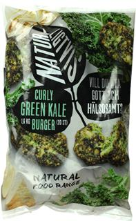 Curly Green Kale Burger