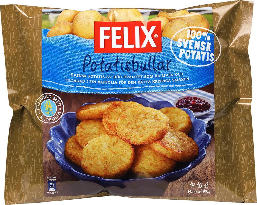 felix potatisbullar kcal