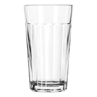 Paneled glas 35,5cl Ø79mm h137mm