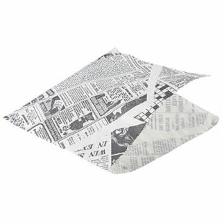 Papperspåse News vit 17,5x17,5cm 1000-pack