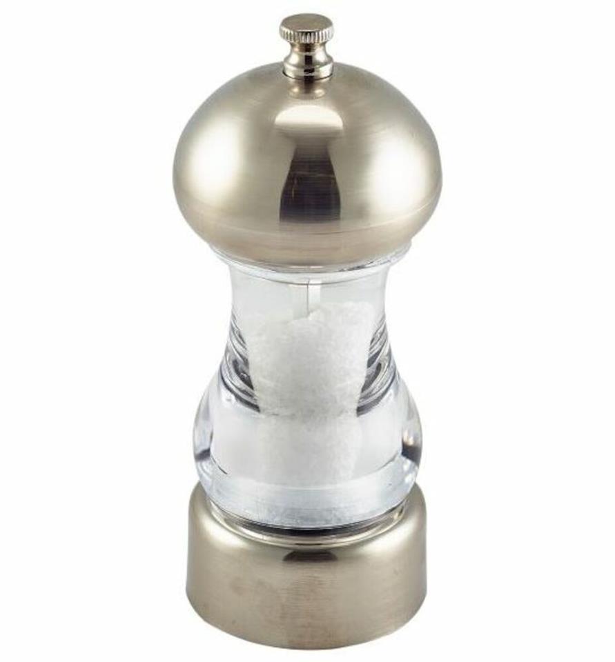 45db727b07a Salt/peppar kvarn Krom/acryl 14 cm   Köp kvarnar och ströare hos ...