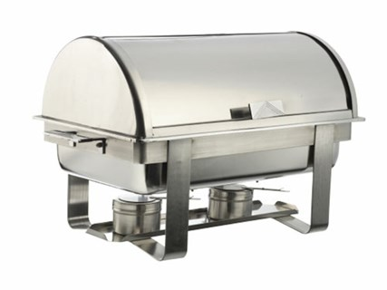 Chafing dish rostfri 1/1 rolltop