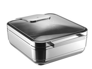 Hot & Fresh Manhattan Chafing Dish GN 2/3 glas/rfr