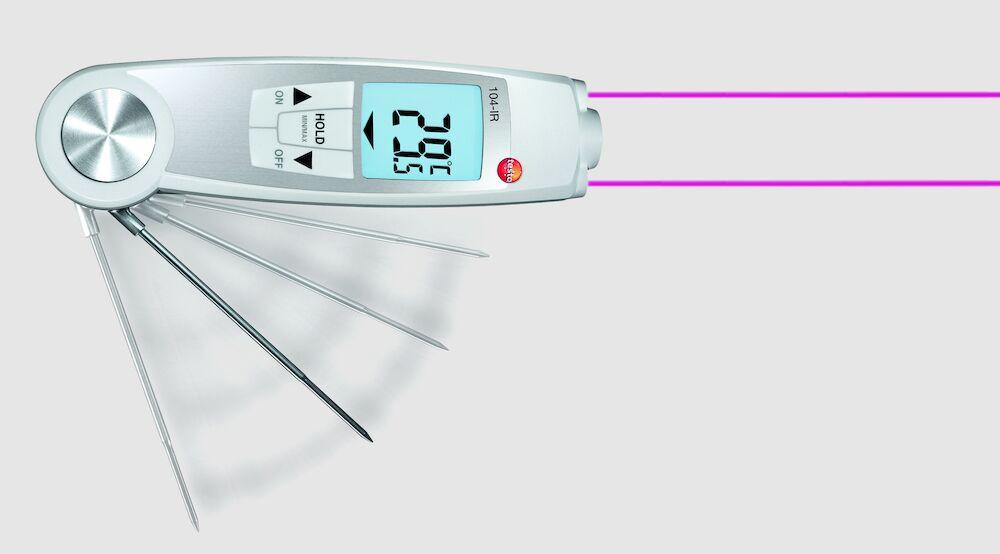 IR kombi termometer Testo 104   Köp termometrar hos Menigo