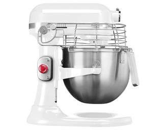 KitchenAid professional, 6,9L skål, vit