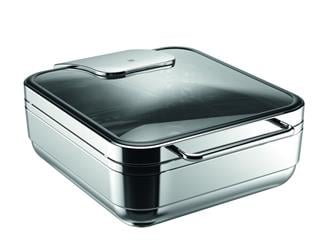 Hot & Fresh Basic Chafing Dish GN 2/3 glas/rostfri