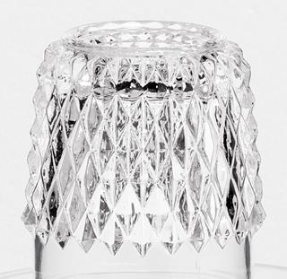 Cocktail lampglas diamant klar
