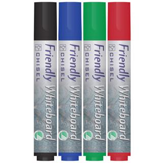 Whiteboardpenna 4-pack