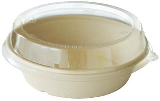 Skål Bagasse 900ml 194x53mm brun