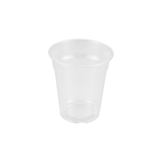 Plastglas klar PET 23cl 8oz Ø78 47x84mm