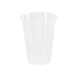 Plastglas klar PET 35cl 12oz Ø84/53x108mm