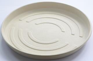 Form Bagasse Pizza Ø356x34mm ecoecho