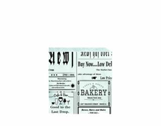 Hamburgerficka Smörpapper Deli News 150x155mm
