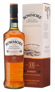 Bowmore Darkest 15 years old