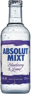 Absolut Mixt Blueberry Lime 27,5 cl