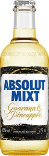 Absolut Mixt Guarana Pineapple 27,5 cl, 4,5%