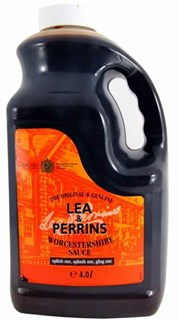 Worcestershire sauce dunk