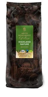 Kaffe mellanrost Highland Nature KRAV