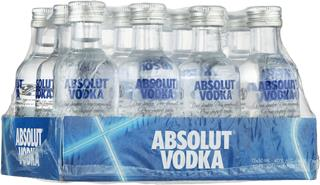 Absolut Vodka  12 x 5 cl