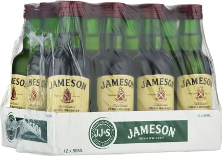 Jameson  12 x 5 cl