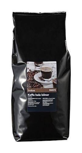 kaffe hela bönor mörkrost