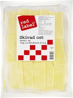Red label 28% skivad