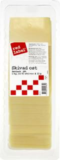 Ost Red Label skivad 28%